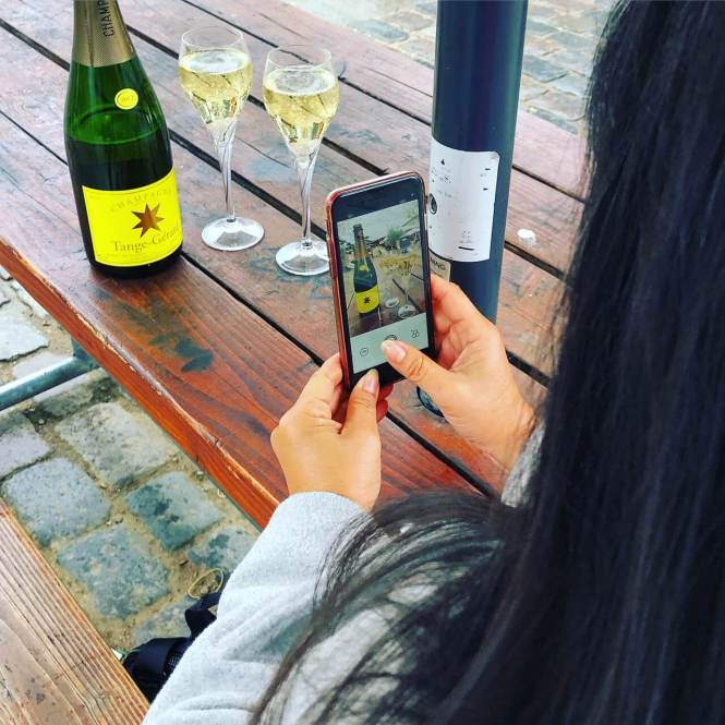 Champagne som reflektionsmetode