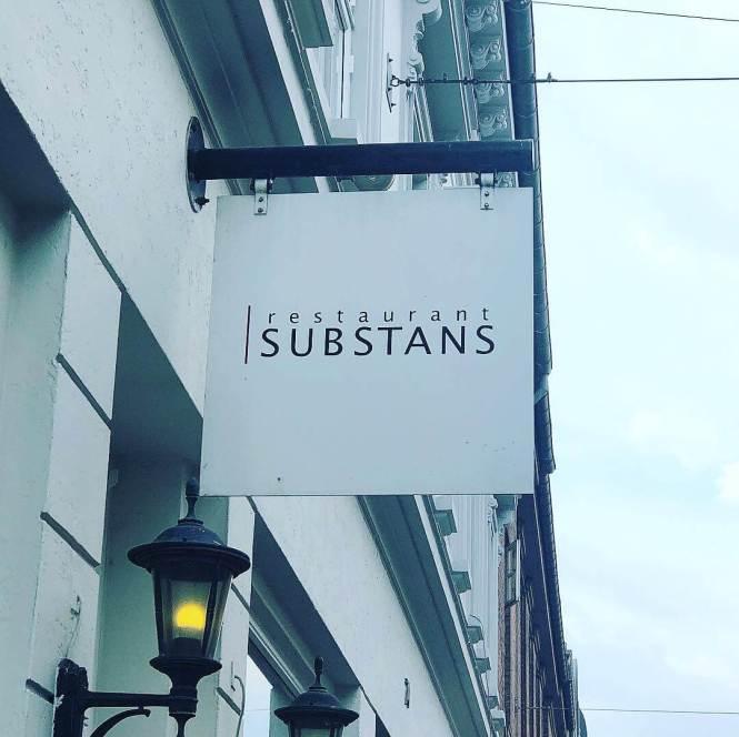 Indgang til Restaurant Substans