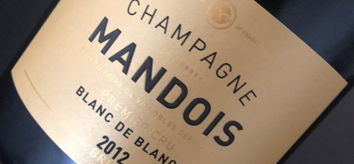 Gastromand x Champagne: 2012 Mandois Blanc de Blancs – Blonde, Bad & Beautiful