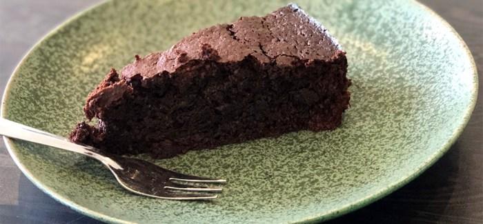 Chokoladekage med masser af chokolade (og ingen mel)