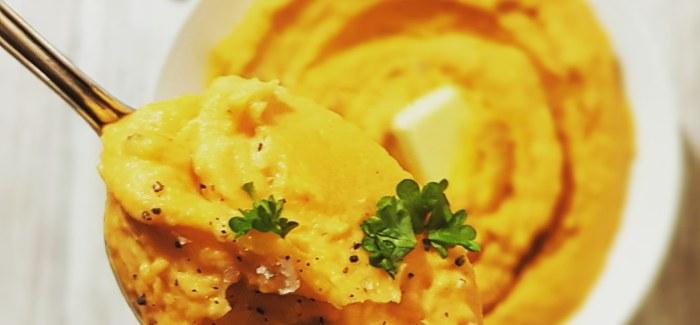 Mashed Sweet Potatoes – fluffy mos af søde kartofler