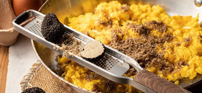 Scambled eggs med trøfler