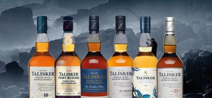 Talisker Whiskysmagning