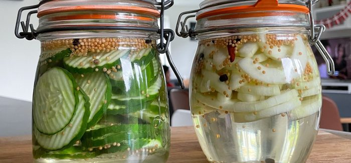 Få sommeren til at vare længere: Syltede agurker og asier