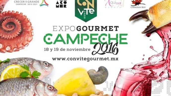Convite Expo Gourmet Campeche 2016