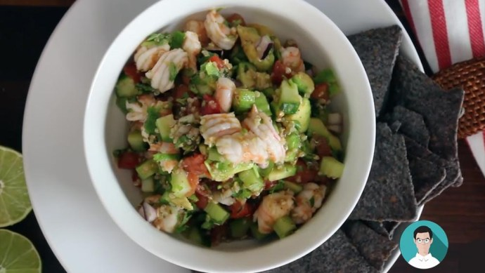 Ceviche de Camarón 3 - This is my Take