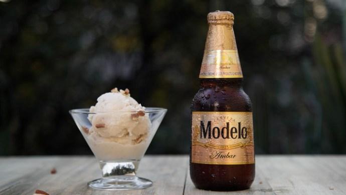 Helado Cerveza Modelo
