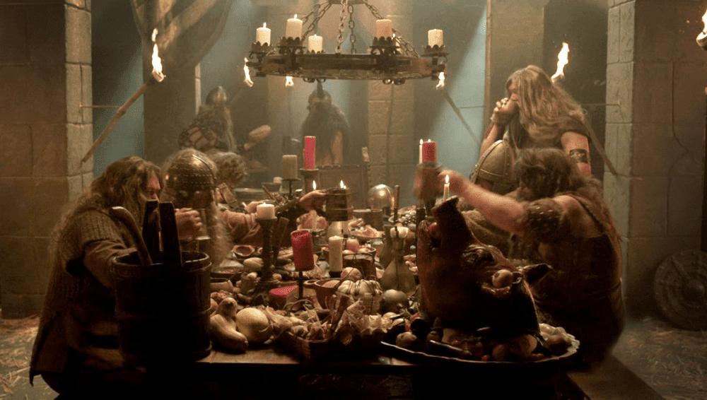 cena vikingos, cultura nórdica