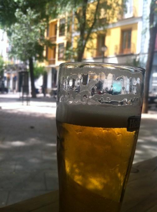 Un buen momento cervecero.