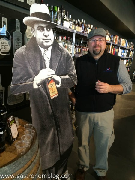 Mr. Nom hanging out with Al Capone and Templeton Rye
