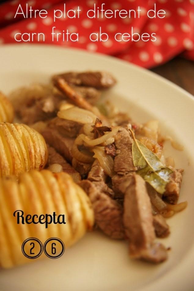 Carn frita amb cebes 26