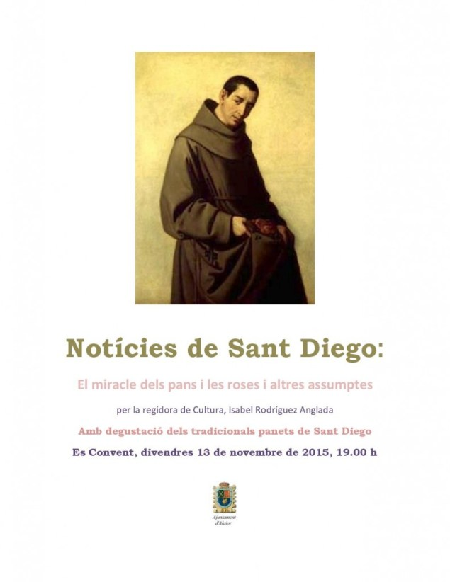 Panets Sant Diego cartell