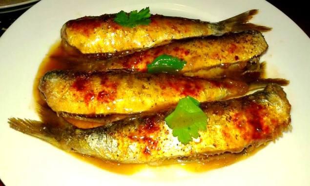 Sardines amb mel i vinagre Dani Mora