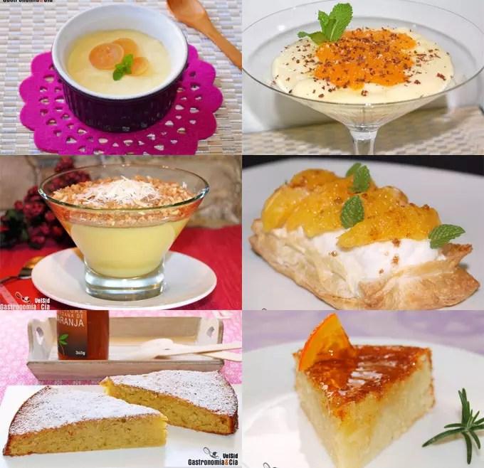 Doce recetas de postres con naranja el blog de cocina y - Postres para impresionar ...