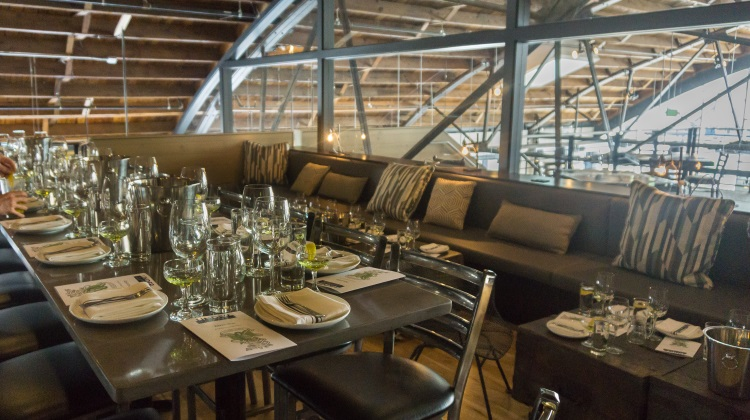 under current upstairs private dining