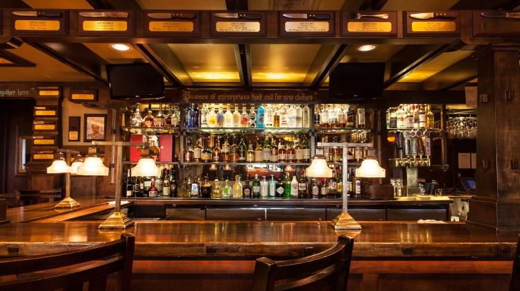 spencers bar area