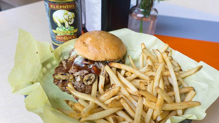 Chedda Burger - the dealer