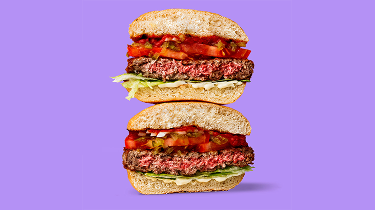 Impossible Foods burger. Credit Impossible Foods