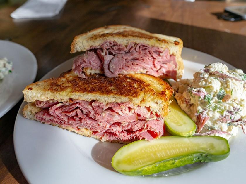 Feldman's Deli - loaded half pound sandwiches