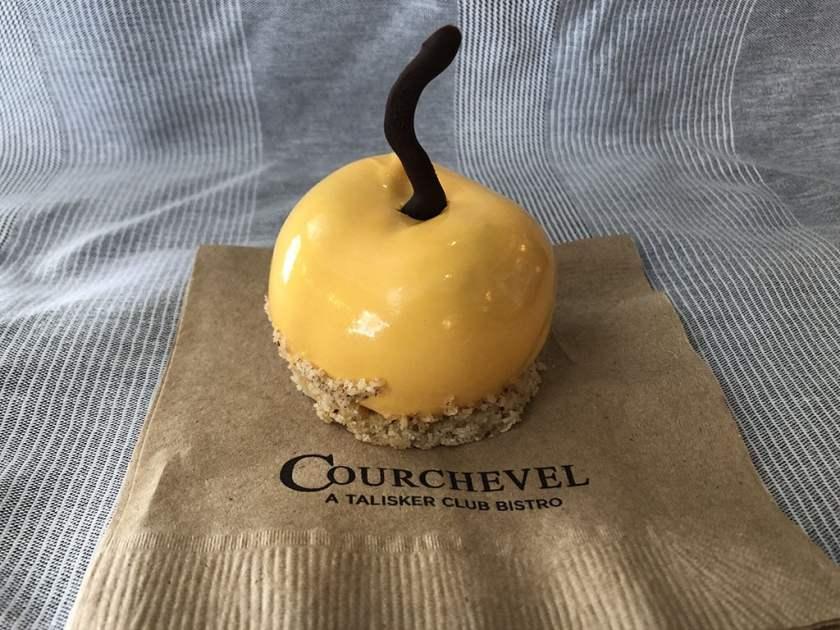 Courchevel - apricot dessert (Talisker Club)