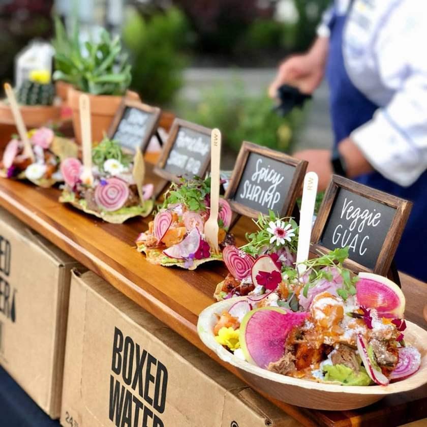 Sobe Eats food truck - food display (Sobe Eats)