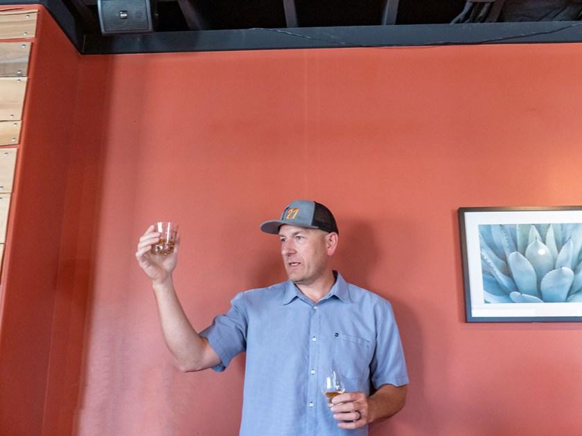 Todd Gardiner at Taqueria 27