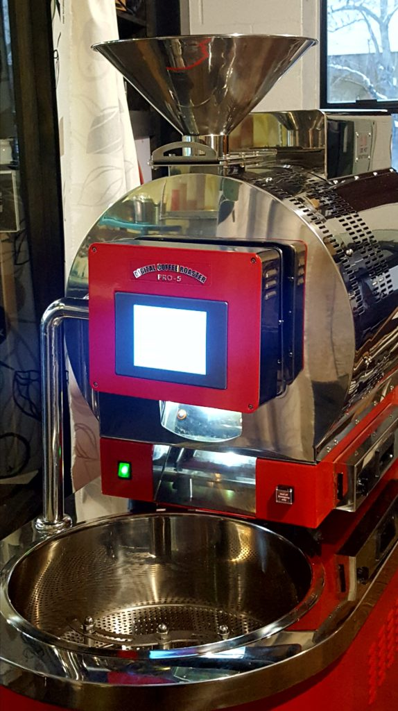 IMEX coffee roaster