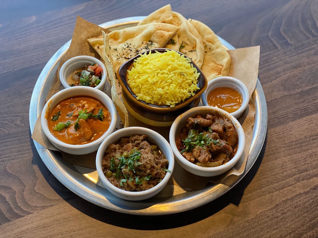 Curry Up Now - thali (Salt Plate City)