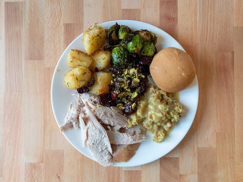 Thanksgiving plate with Beltex