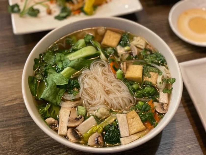 Saigon Vegan - noodle soup (Salt Plate City)