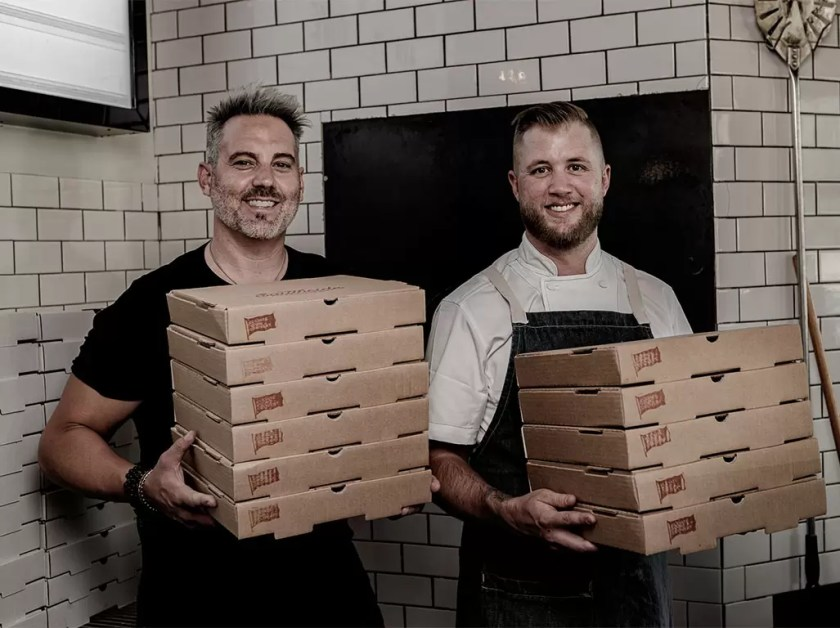 Michael McHenry and Ryan Nelson (South Side PIzza)