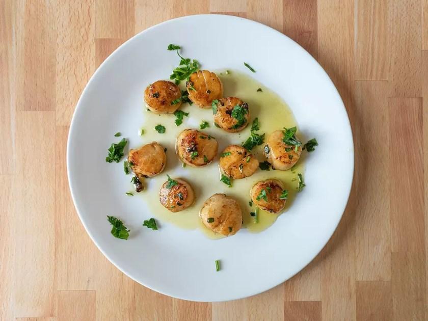 Wulf's Fish - scallops
