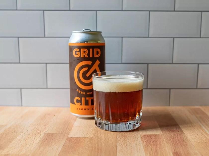 Grid City - brown ale