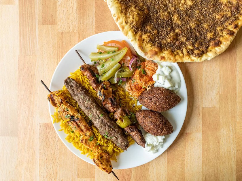 Beirut Cafe - mixed grill
