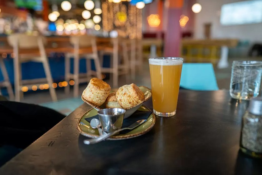 Punch Bowl Social - beer and biscuits, no more