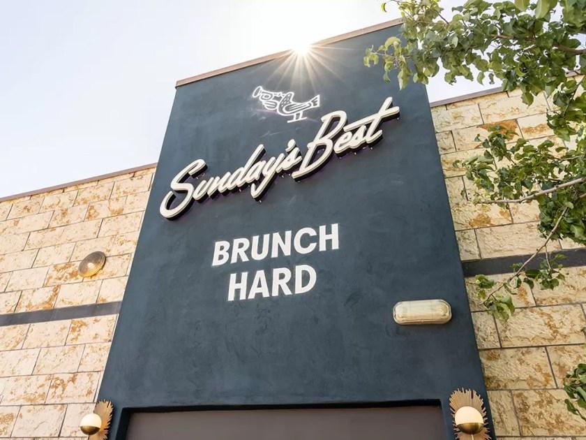 Sunday's Best - brunch hard