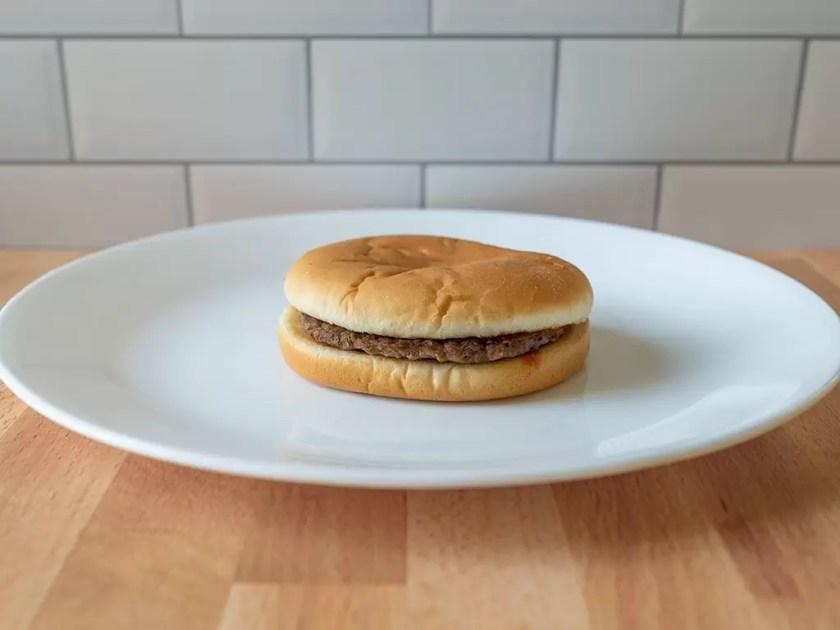 McDonald's hamburger