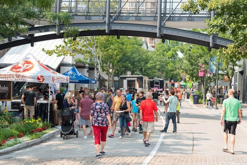 Food truck and brewery battle (The Gateway)