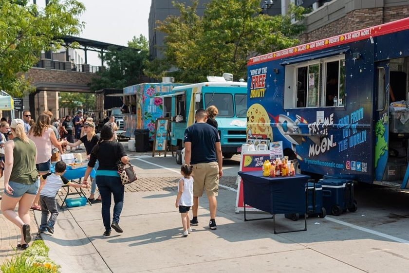 Fry Me To The Moon at food truck and brewery battle (The Gateway)