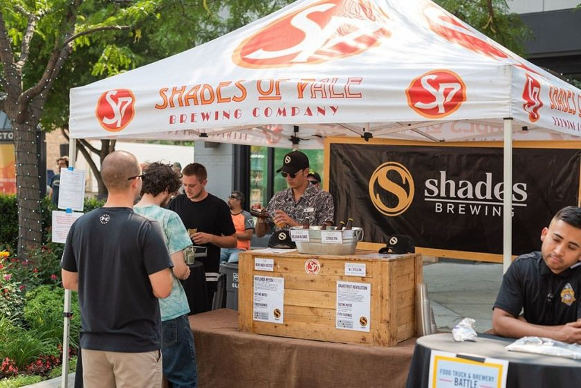 Shades Of Pale at food truck and brewery battle (The Gateway)