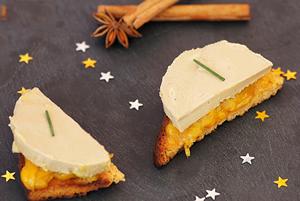 Modul de servire al foie gras