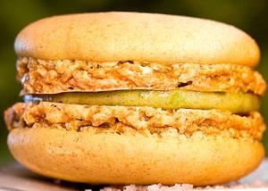 Macaron - fursec cu cochilia dublă