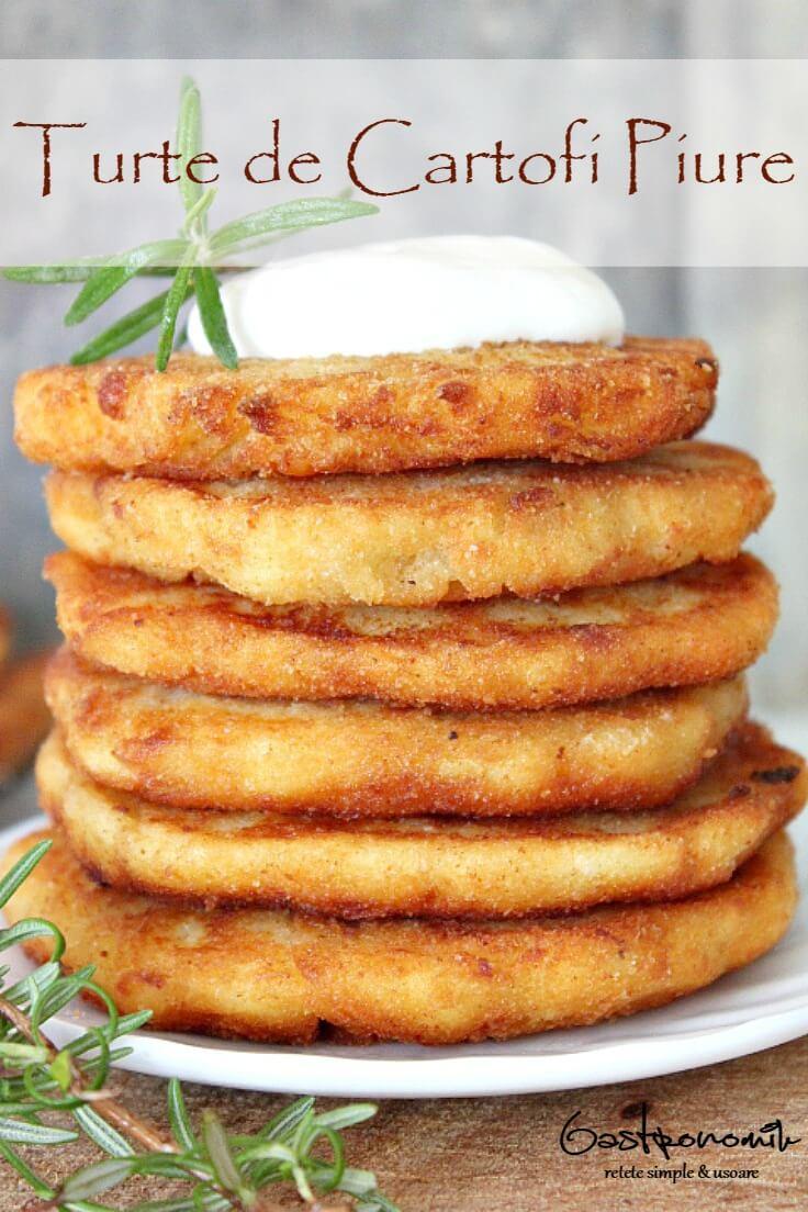 Turte De Cartofi Piure
