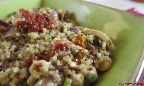 Risotto de quinoa au poulet