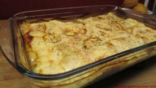 Gratin courgettes & raclettes