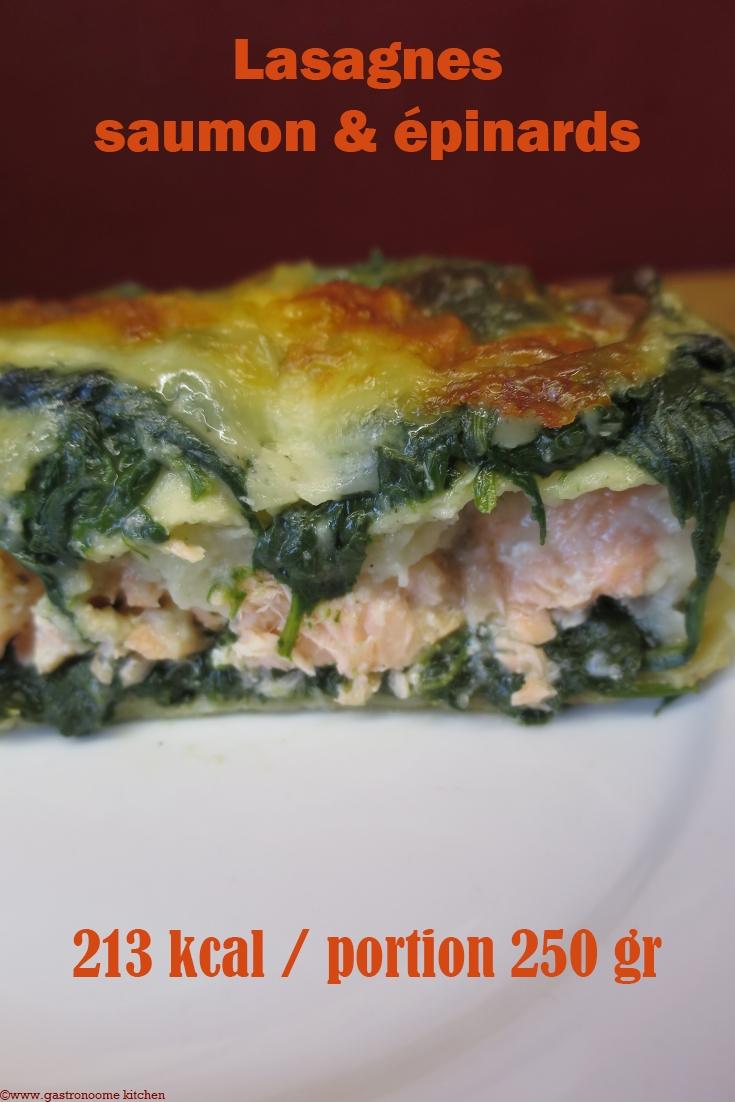 Lasagnes saumon & épinards