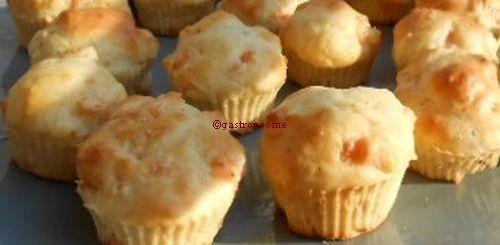 Muffins au saumon fumé