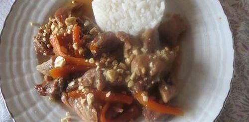 Sauté de porc au caramel a la vietnamienne