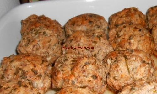 Boulettes de poulet au bouillon