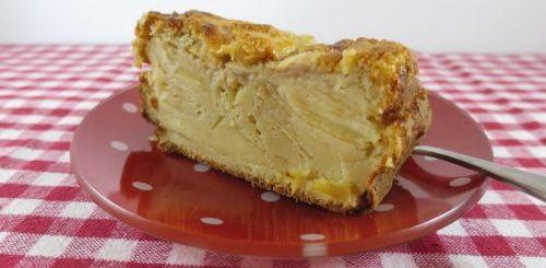 Cake très moelleux aux pommes